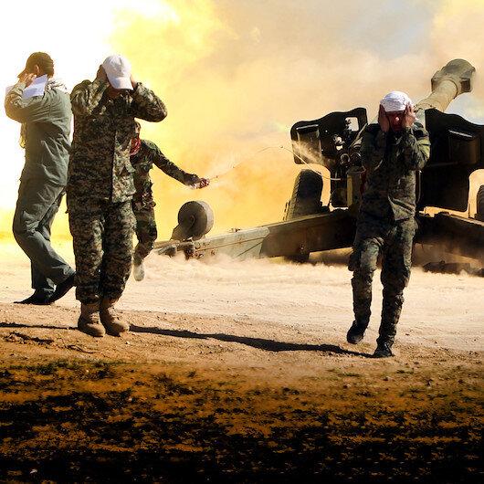 Haşdi Şabi Suriye'de DEAŞ'ı vurdu