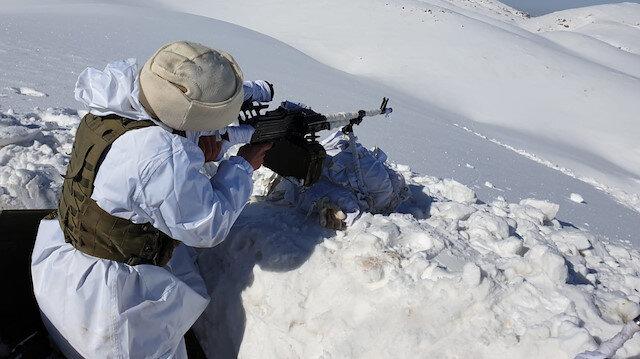 Cudi Dağı'nın 2 bin 920 rakımlı kırsalında operasyon düzenlendi.