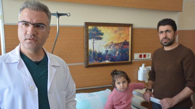 Başarılı geçen ameliyat sonucunda küçük çocuk yeniden sağlığına kavuştu.