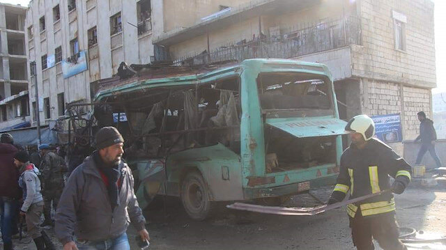 Explosion kills three, wounds 12 in Syria's Afrin