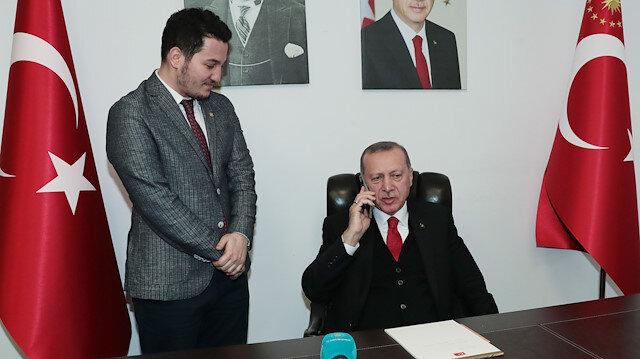 Erdoğan bir genç için telefonda kız istedi