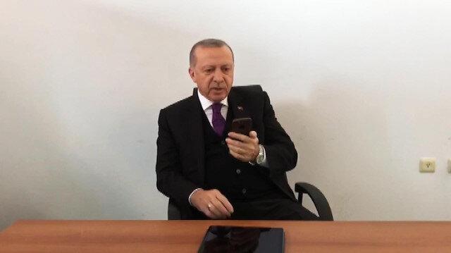 Erdoğan Afrin kahramanlarına seslendi
