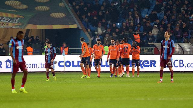 Başakşehir, Trabzonspor'u deplasmanda 4-2 mağlup etti.