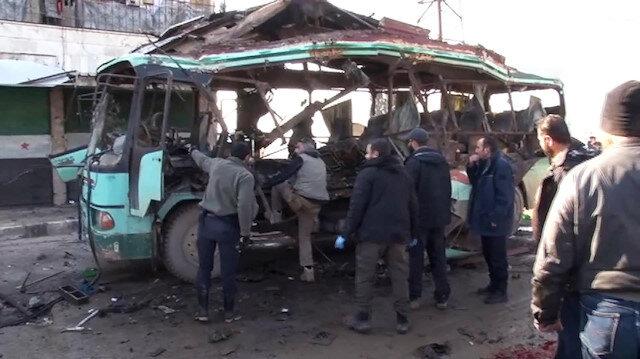 Afrin'de patlama: 4 ölü 11 yaralı