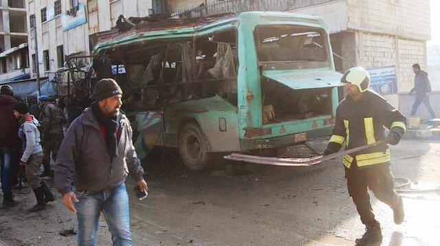 Olayda 3 sivil hayatını kaybederken, 7'si ağır 11 Afrinli yaralandı.
