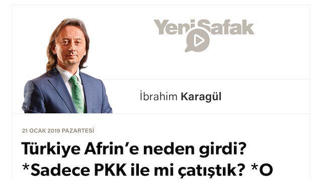 Türkiye Afrin'e neden girdi? *Sadece PKK ile mi çatıştık? *O gün kapıyı kapatmasaydık  bugün Hatay'ı yakacaklardı.. *Bu coğrafya hepimiz için bir kaderdir. Ayrılmak ölümdür..*