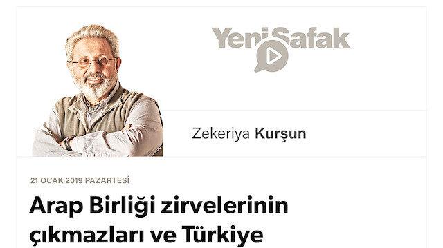 Arap Birliği zirvelerinin çıkmazları ve Türkiye