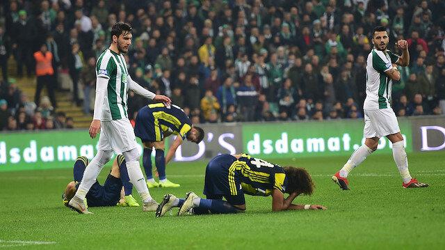 Bursaspor-Fenerbahçe: 1-1