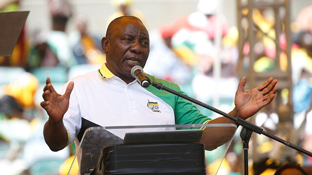 South Africa's Ramaphosa calls for lifting of sanctions on Zimbabwe
