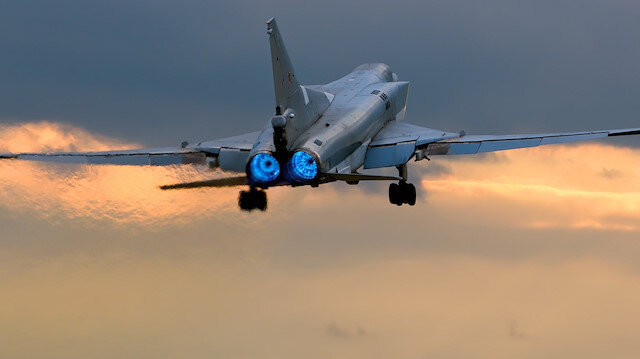 Tupolev Tu-22M tipi uzun menzilli süpersonik bombardıman uçağı