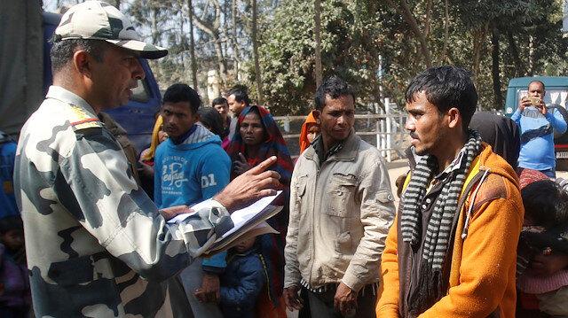 Arakanlı Müslümanlar Hindistan Bangladeş sınırında mahsur kaldı