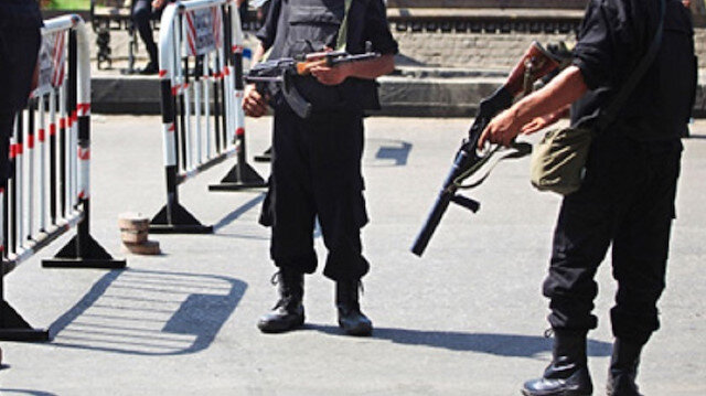 "At least five members of Egypt's outlawed Muslim Brotherhood group were killed in a ""shootout"" with Egyptian security forces."