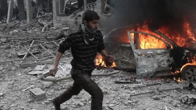 Esed rejiminden Hama'ya saldırı