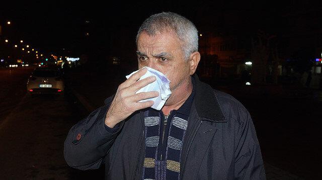 Koku sızıntısını gaz kaçağı sanan vatandaş sokağa indi