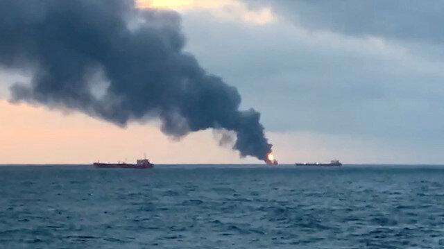 Ten killed after two vessels catch fire in Kerch Strait