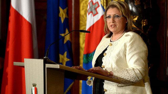 Malta Cumhurbaşkanı Marie Louise Coleiro Preca