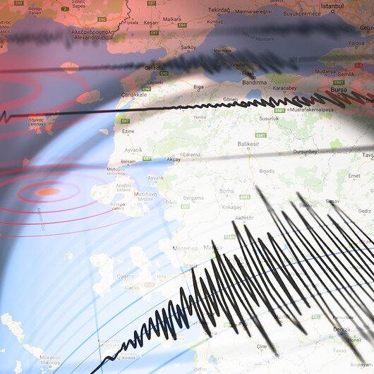 Muğla'da 4,5 şiddetinde deprem