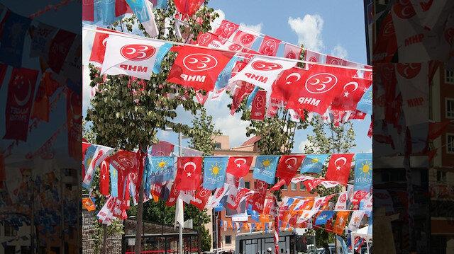 31 Mart öncesi siparişi verilen bayrak sayısında yüzde 50 azalma meydana geldi.