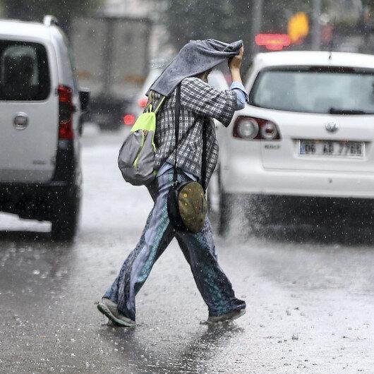 7 ile kuvvetli yağış uyarısı