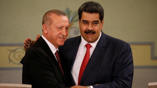 Erdoğan: Maduro kardeşim dik dur yanındayız