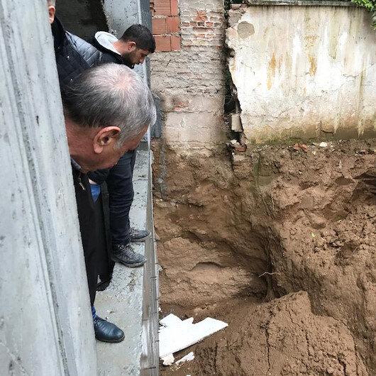 İnşaat kazı alanında insan kemikleri bulundu