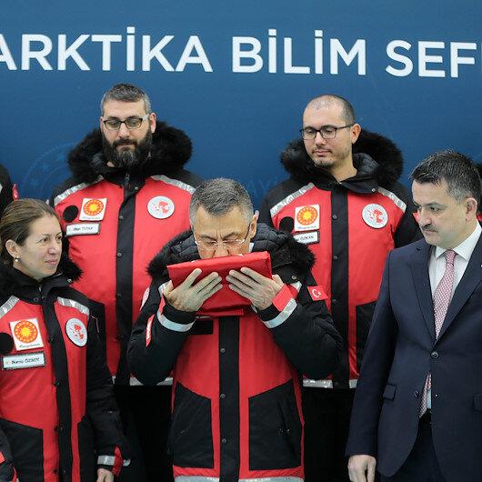 """نائب أردوغان يكشف عن قاعدة """"علمية"""" لتركيا في القاعدة المتجمّدة"""