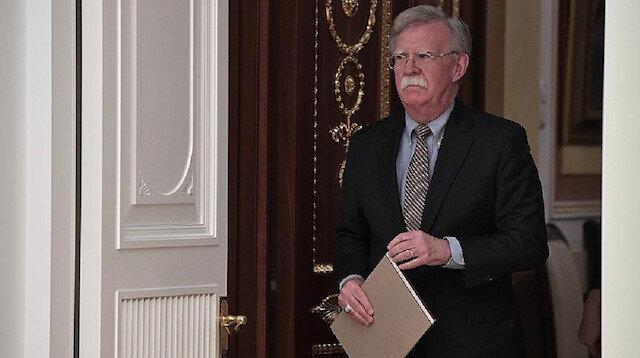 The US National Security Adviser John Bolton