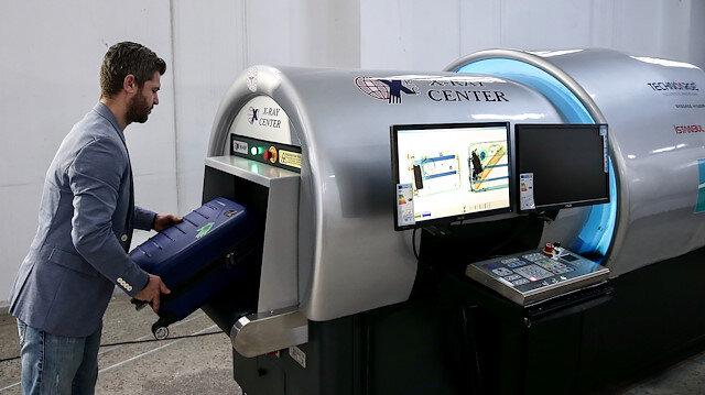 Kenevirden üretilen x-Rayler havalimanında