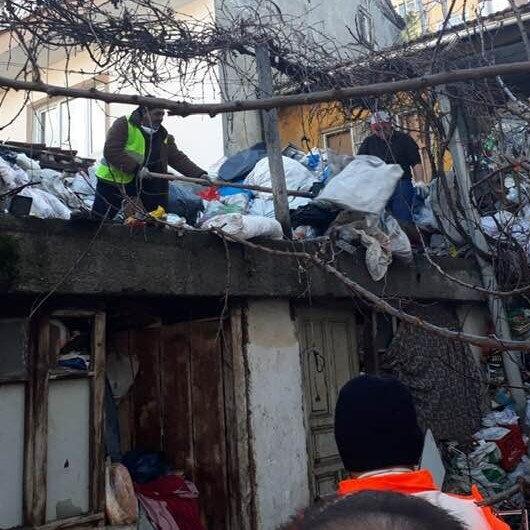 20 ton çöp çıktı: 3 günde temizlenebildi
