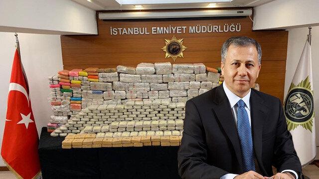 İstanbul'da 850 kilo uyuşturucu ele geçirildi