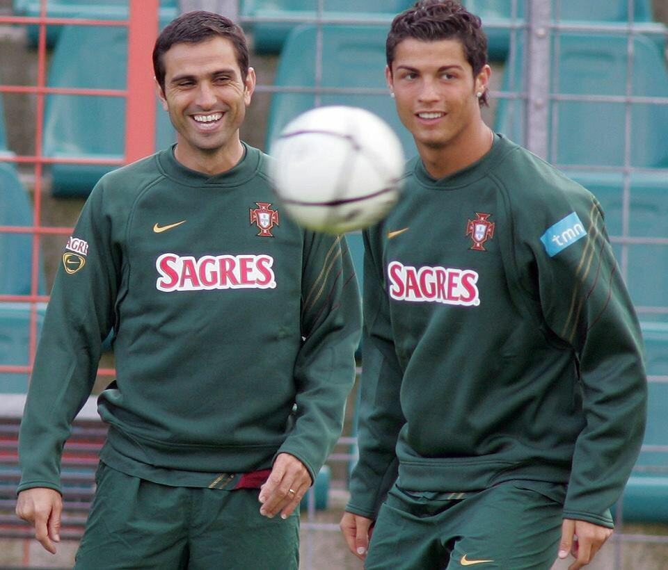 Pauleta ile Ronaldo