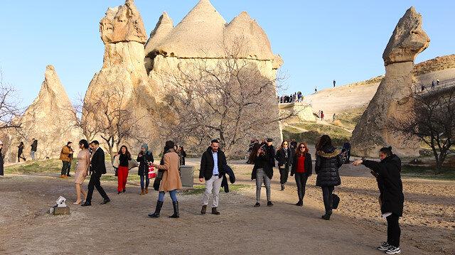 Nevşehir'in 298 bin 339 nüfusu olduğu açıklandı.