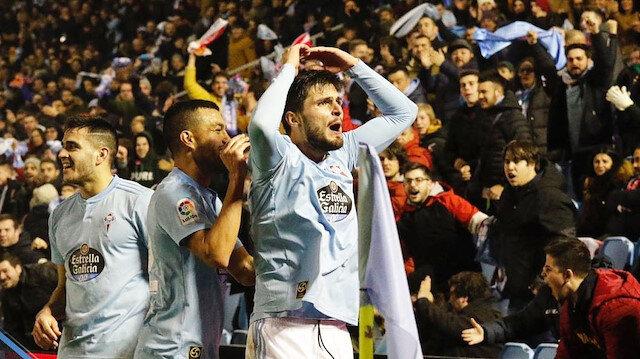 Okay Yokuşlu, Celta Vigo'da aralık ayının en iyi futbolcusu seçilmişti.