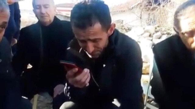 Erdoğan'dan Osman Çakmak'a taziye telefonu