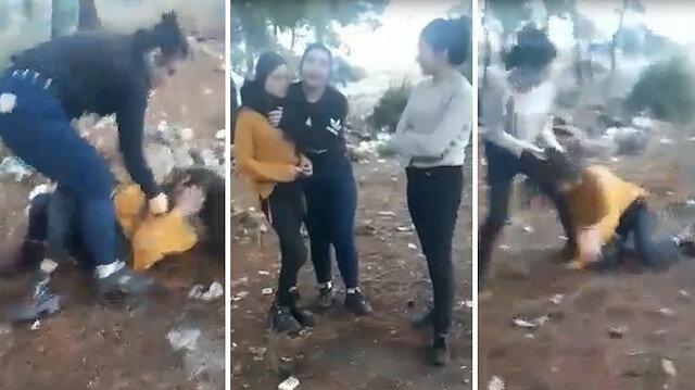 Antalyada ormanda genç kıza işkence