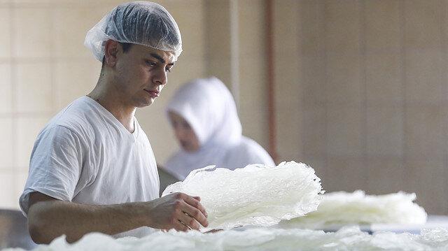 138 yıldır ürettiği güllacı yurt dışındaki sofralara da taşıyor