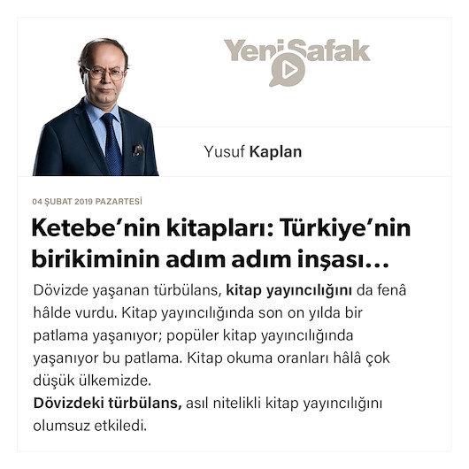Ketebe'nin kitapları: Türkiye'nin birikiminin adım adım inşası...