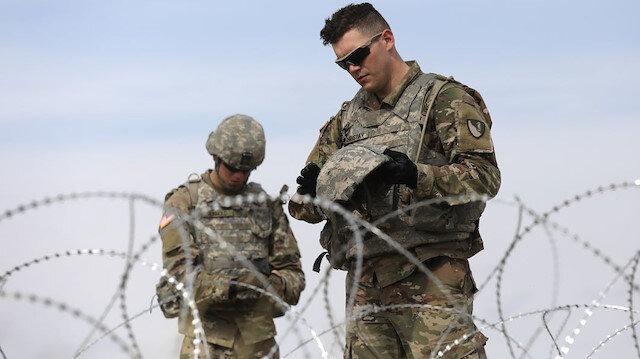 Pentagon Meksika sınırına takviye gönderiyor