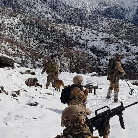 Siirt'te 9 PKK sığınağı kullanılamaz hale getirildi
