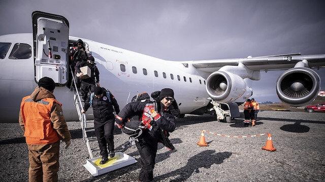 وصول أول فريق علمي تركي للقطب الجنوبي.. لإنشاء أول قاعدة!