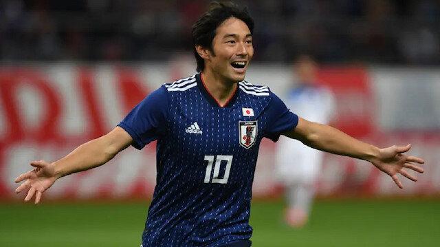 Nakajima Japonya Milli Takımı formasıyla çıktığı 6 maçta 2 gol kaydetti.