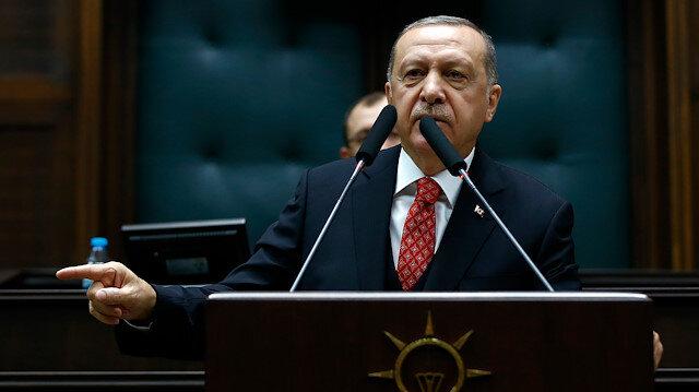 Erdoğan: Münbiç'teki teröristler çıkartılmazsa bizim bekleme süremiz sona erer