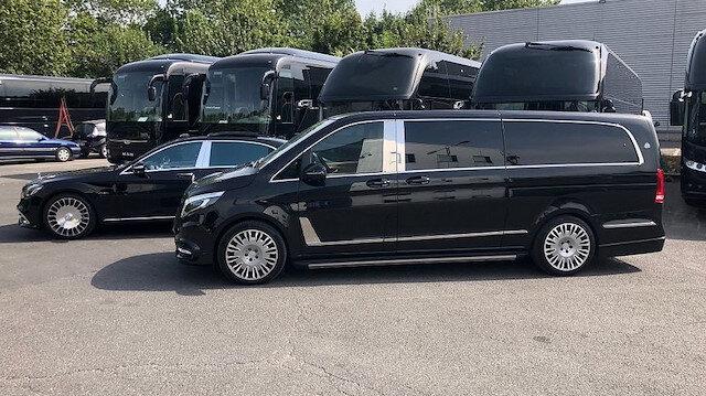Mercedes Vito ultra lüks bir Maybach'e dönüştürüldü.