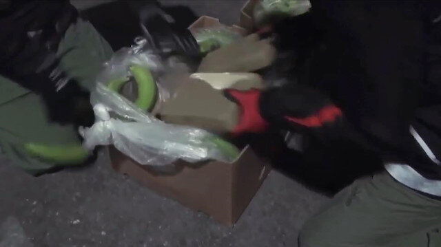Mersin'de dev uyuşturucu operasyonu: 650 kilo ele geçirildi