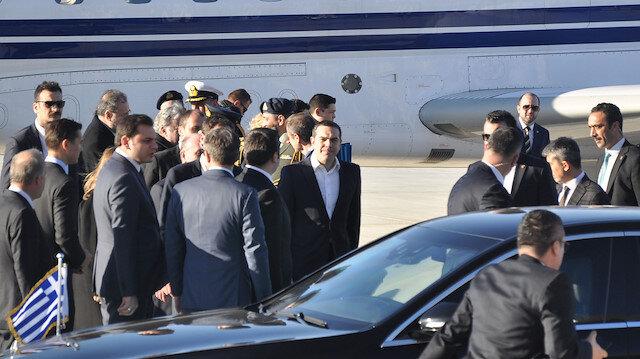 Yunanistan Başbakanı Çipras Ankarada