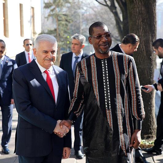 رئيس برلمان بركينا فاسو بضيافة يلدريم