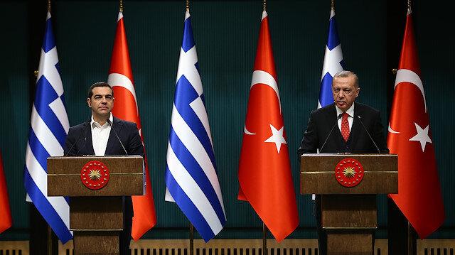 Cumhurbaşkanı Erdoğan'dan Çipras'a: Darbecilerin istiyoruz