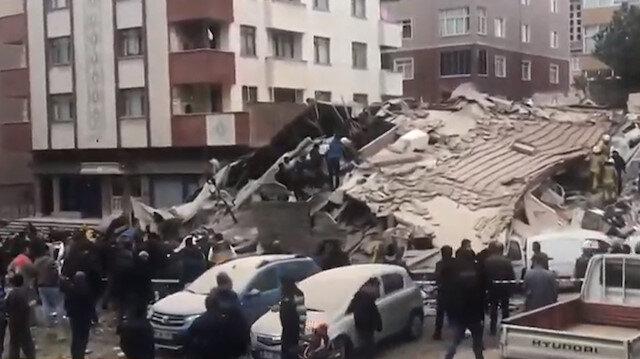 kartalda 6 katlı bina çökt ile ilgili görsel sonucu