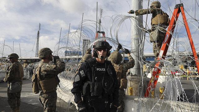 ABD Meksika'daki askerini geri çekiyor