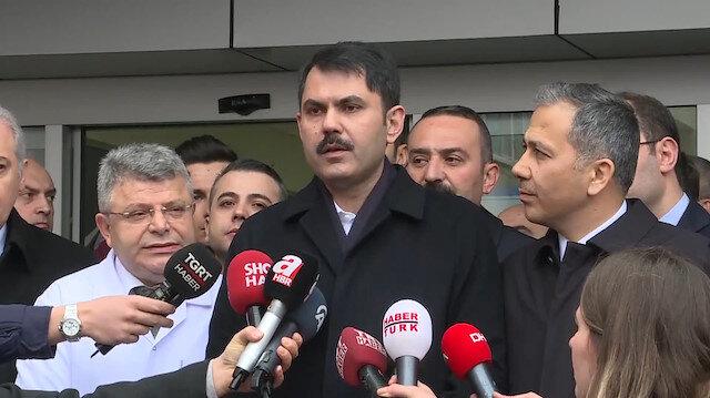 Bakan Kurum yaralı vatandaşlar hakkında bilgi verdi